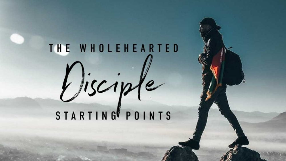 The Wholeheart Disciple: Starting Points